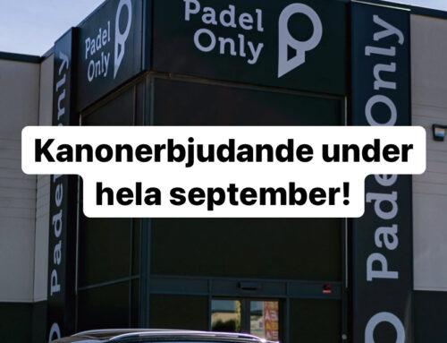 Kanonerbjudande under hela september!